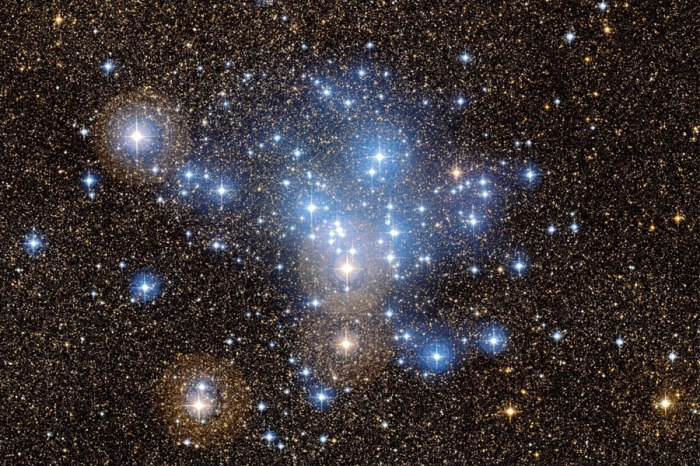 M25 open cluster of blue stars - Copy