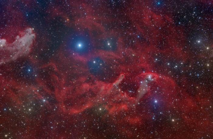 NGC1788 Rigel amidst nebula