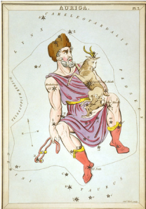 From Wikipedia. The constellation Auriga.