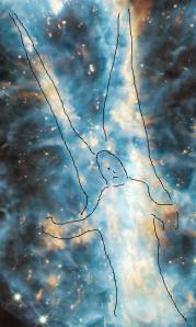 Angel Outline NGC 5189