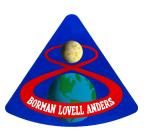 Insignia of Apollo 8 - December 1968