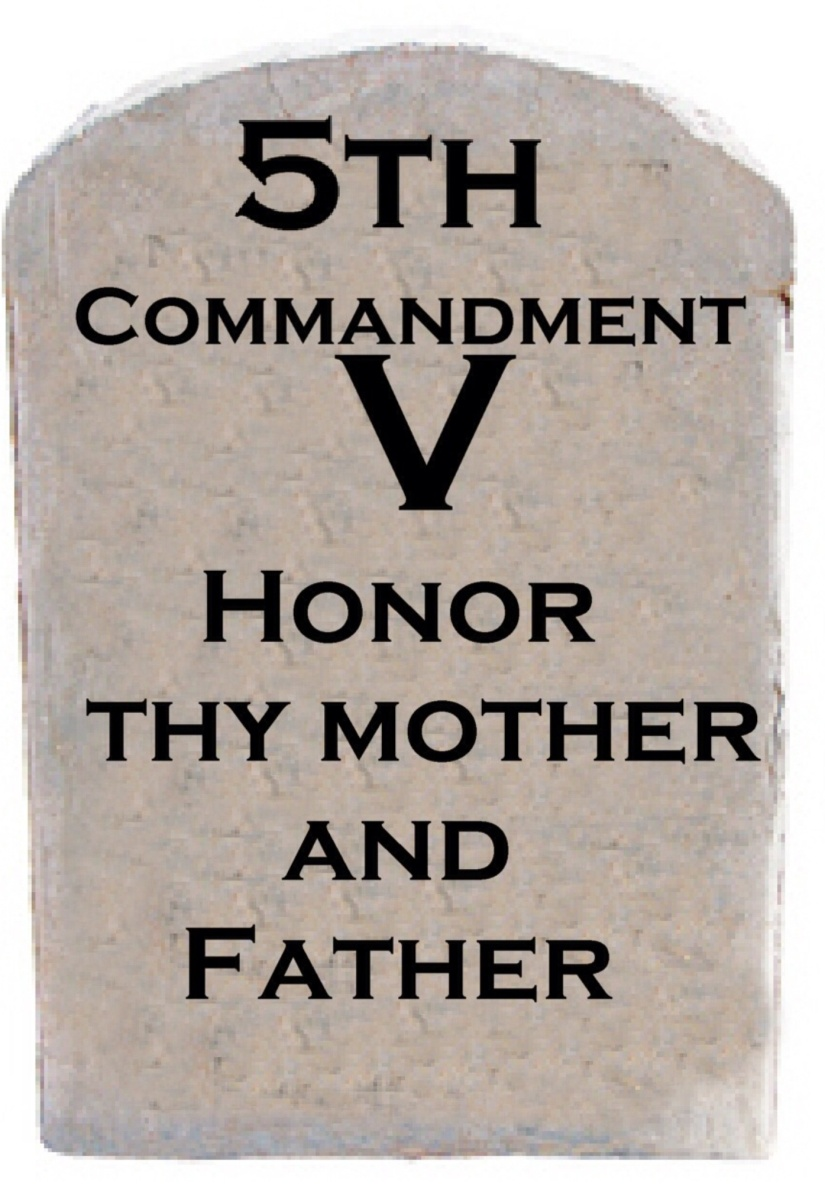 Honor Thy Father And Thy Mother Rcs Talon Truth And Nail