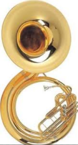 Load one of these bad boys on your shoulder in full band uniform during summer practices!