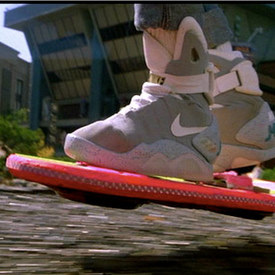note: Actual working hoverboard not shown.